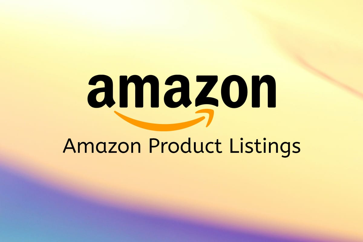How Can You Optimize Your Amazon Product Listings?