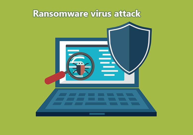 Cyber Crimes- RANSOMWARE Virus Attack